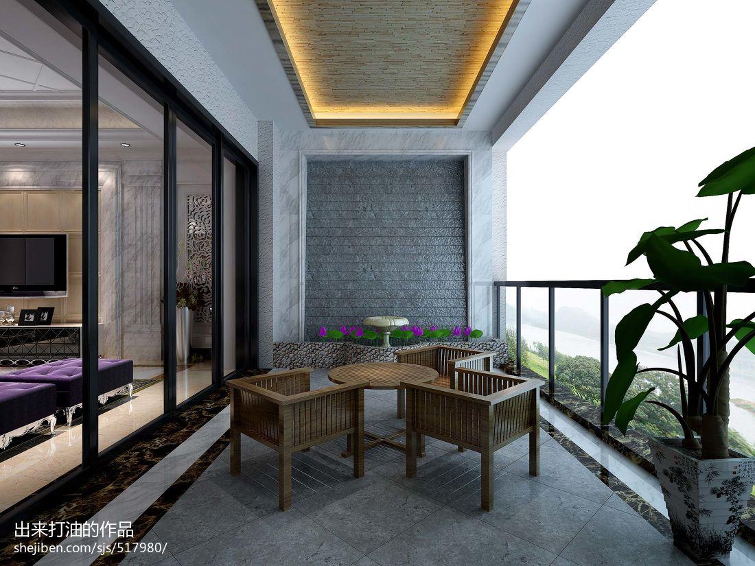 客厅与走廊移门效果图_阳台玻璃移门效果图 – 设计本装修效果图