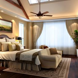 豪华别墅卧室图片