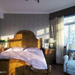 現代美式臥室圖片