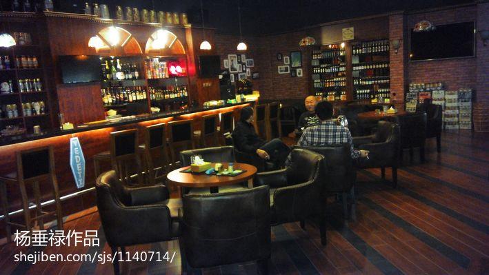 啤酒吧_啤酒吧背景墙设计效果图 – 设计本装修效果图