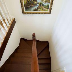 三房欧式田园楼梯踏板装修效果图大全