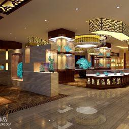 绿华珠宝店面设计