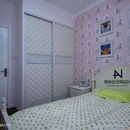 美式女生卧室衣柜设计
