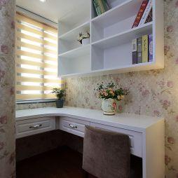 休闲美式小户型书房装修图