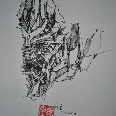 手绘方案草图表现_1023937