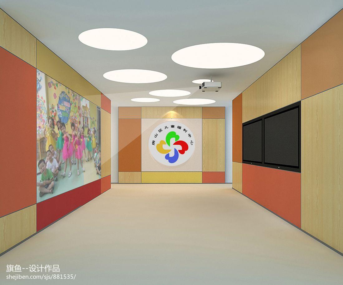 转角沙发图片_幼儿园墙面布置图片 – 设计本装修效果图