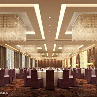 四星级酒店多功能厅装修效果图