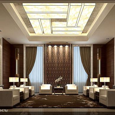 四星级酒店贵宾接待室装修效果图