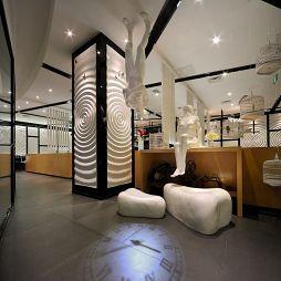 中式中餐馆吊顶装修效果图