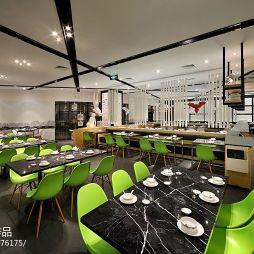中式中餐馆吊顶装修图片