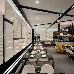 中式中餐馆背景墙装修图片