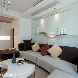 现代风格家庭客厅设计