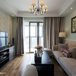 美式最新客厅装修效果图片欣赏