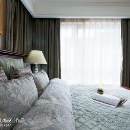 美式室内设计卧室窗户图片