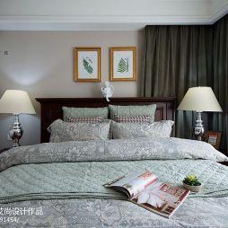 美式室内设计卧室背景墙装修