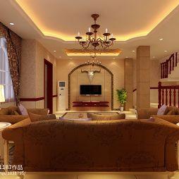 欧式别墅设计案例_1047409