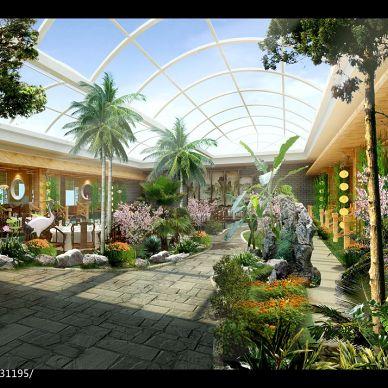中式生态园_1051766