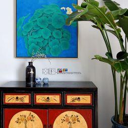 中式装饰柜效果图
