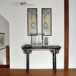中式古典书房案几装修图片