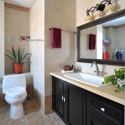 中式古典风格主卫生间装修图片