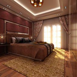 锦绣嘉园_现代卧室灯具装修设计效果图