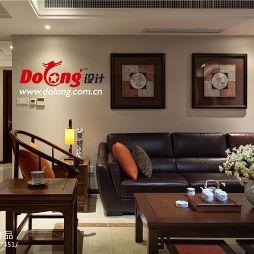 仙龙湾客厅装饰挂画装修效果图