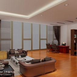 北京丰台区海威国际广场7层办公室设计_1078522