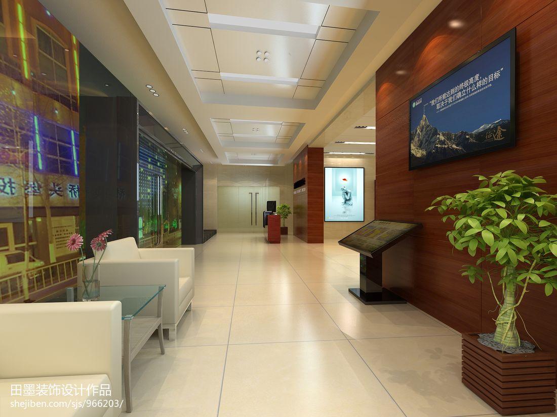 工商银行大厅家具装修效果图