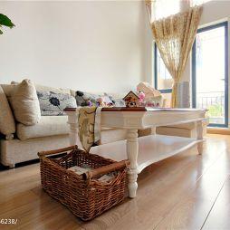 家装韩式田园风格客厅家具装修设计