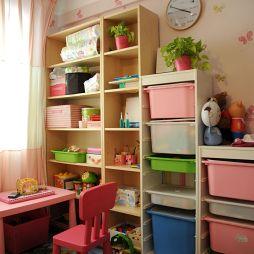 整体家装现代风格儿童房间家具装修设计效果图