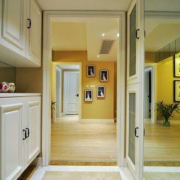 家装美式风格入门玄关柜装修效果图
