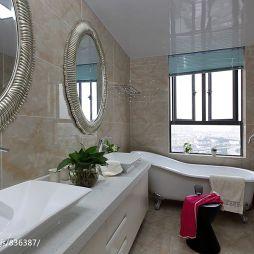 现代风格时尚卫浴整体装修设计效果图