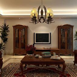 古典欧式客厅室内装修效果图