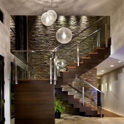 室内阁楼楼梯设计
