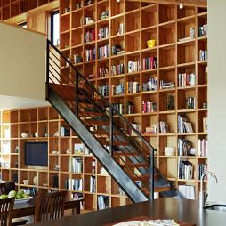 客厅书架装修设计