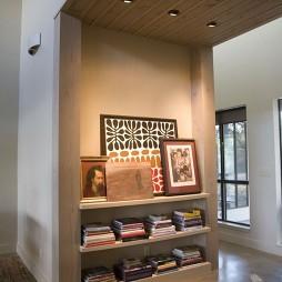 客厅简易书架设计