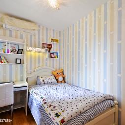 新古典11平米儿童房壁纸装修设计效果图