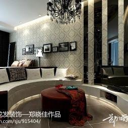 30㎡单身公寓客厅装修效果图