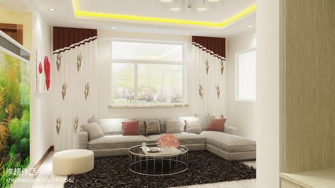 时尚家居现代风格客厅装修效果图