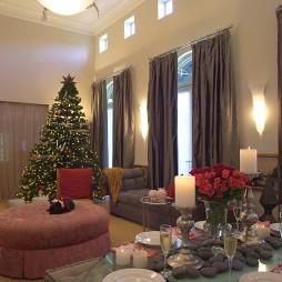 圣诞装饰品布置图片