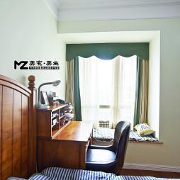 美式卧室写字台设计