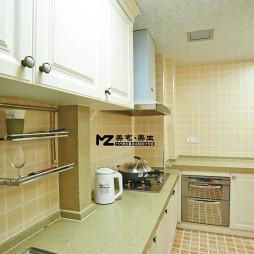 小清新美式风格时尚厨房置物架图片