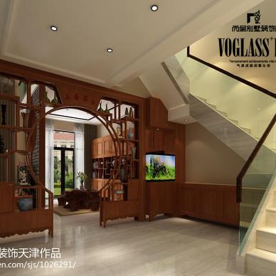 中式和现代风格的混搭设计_别墅设计_1184508