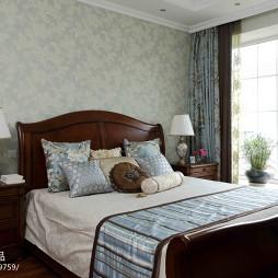 温馨复古卧室设计
