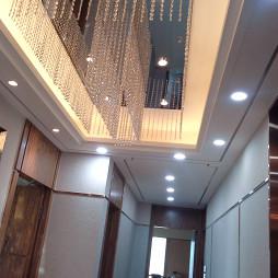 新中式玄关吊顶设计效果图