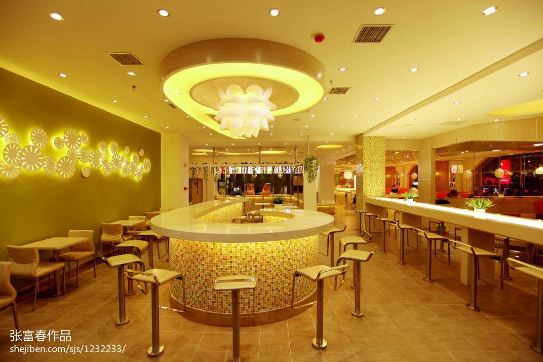 最新现代时尚快餐店设计方案展示