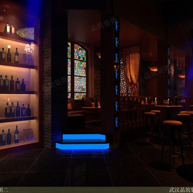 欧式特色小酒吧酒柜设计图片
