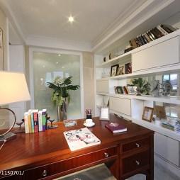 美式风格样板房书房设计