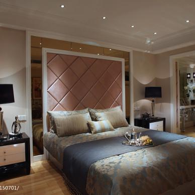 法式复式板房卧室设计图片