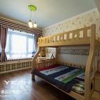 三居美式简约儿童房装修